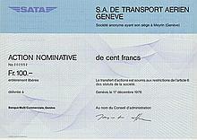 S. A. de Transport Aerien Geneve