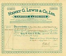Henry G. Lewis & Co., Ltd.