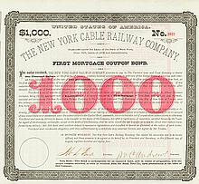 New York Cable Railway Company