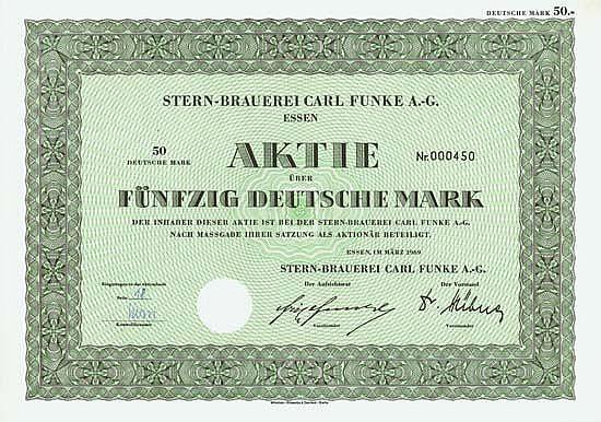 Stern-Brauerei Carl Funke AG