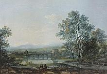 English School (19th Century) 'Landscape with