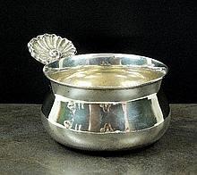 A Victorian silver bowl, William Ker Reid, London
