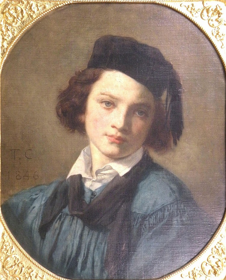 Attributed to Thomas Couture, French School,