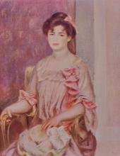 Pierre Auguste Renior. Portrait de Madame J B