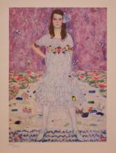 Gustav Klimt. Portrait of Madame Primavesi