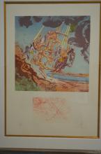 Salvador Dali. Hommage a Homere Return of Ulysses