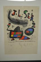Joan Miro. Poster for the Exhibition