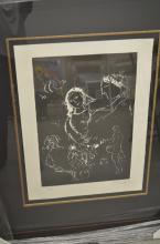 Marc Chagall. Blanc Sur Noire