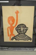 Alexander Calder. Les Affichistes