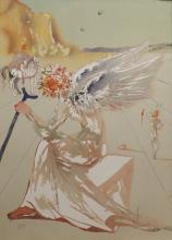 Salvador Dali. Homage a Homere Helen of Troy