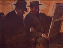 Edgar Degas. Les Amateurs