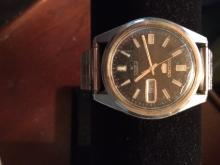 Vintage Men's Watch From Estate Jewelry: Seiko Automatic 21 Jewels