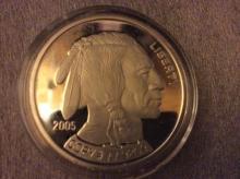 1 oz silver Buffallo Nickel Commemorative Coin