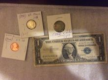 US Currency/coin lot