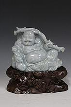 Jadeite Buddha with GIA Certificate