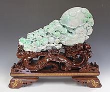 Jadeite Scepter Carving