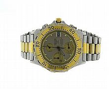 Tag Heuer 3000 Chronograph Two Tone Watch 234206