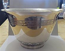 Art Deco 1920s Tiffany & Co Sterling Large Bowl
