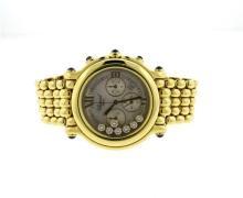 Chopard Happy Sport 18K Gold Diamond Lady's Watch