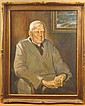 Floyd James Torbert, Redfield at 94, Oil on Canvas