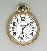 Waltham Vanguard Gold Filled Pocket Watch
