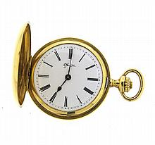 Antique Tiffany & Co 18k Gold Pocket Watch