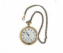 Waltham Crescent Street Pocket Watch