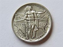 1926 Oregon Trail Half Dollar Coin