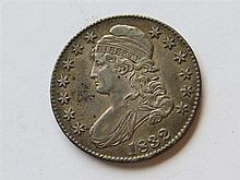 1832 Capped Bust Half Dollar 50 Cents US Coin