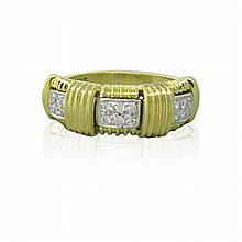 Roberto Coin Appassionata 18k Gold Diamond Ring