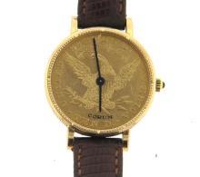 Corum 1883 Ten Dollar Gold Coin Watch