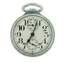Elgin Up Down Raymond Railroad Pocket Watch