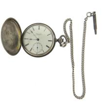 E Howard & Co Series III Reed's Patent Pocket Watch