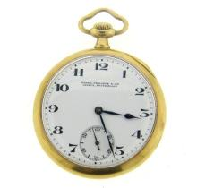 Patek Philippe & Cie 18k Gold Pocket Watch
