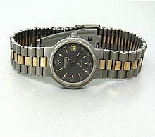 Longines Ti Two Tone Watch