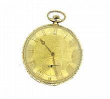 Antique 18k Gold Pocket Watch