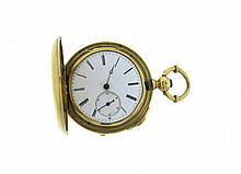 Rare Haas  Gold Pocket Watch