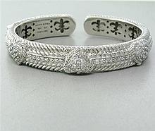 Judith Ripka Sterling Cubic Zirconia Bracelet