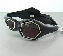 Ippolita Sterling  Resin Scarlet Black Bracelet