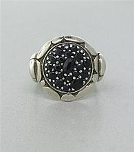 John Hardy Kali Sterling Sapphire Ring