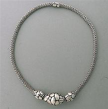 John Hardy Kali Sterling Slide Pendant Necklace