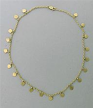 Attributed to Me & Ro 10k Gold Necklace