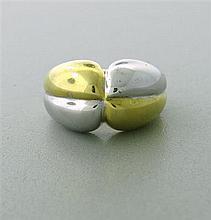 Faraone Milano 18k Gold Two Tone Ring