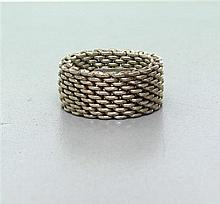 Tiffany & Co Somerset Sterling Silver Ring