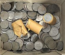 A LARGE QUANTITY OF CHURCHILL COINS. (qty)
