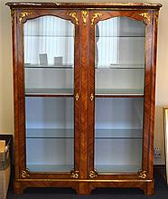 A GOOD LARGE EARLY 20TH CENTURY FRENCH KINGWOOD AN