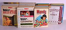 A GROUP OF THIRTY NINE ASTERIX ANNUALS and two others, together with 21 Bunty & Mandy Annuals. (62)