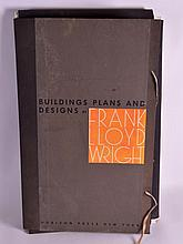 A LOVELY FOLIO OF DRAWINGS AND BUILDING PLANS by F