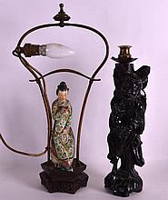 AN UNUSUAL 19TH CENTURY CHINESE CANTON FAMILLE ROS