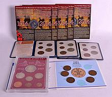 A COLLECTION OF COINS including proof sets etc. (q